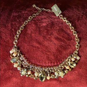 Stunningly beautiful and glitzy bib necklace